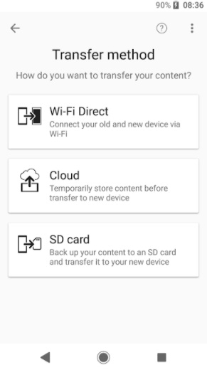 Xperia transfer mobile not working 4