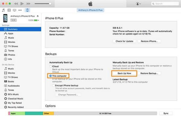 iphone 13 restore itunes backup