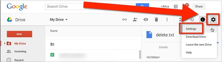 whatsapp auf Google drive zugreifen