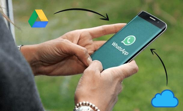 whatsapp backup erstellen and wiederherstellen