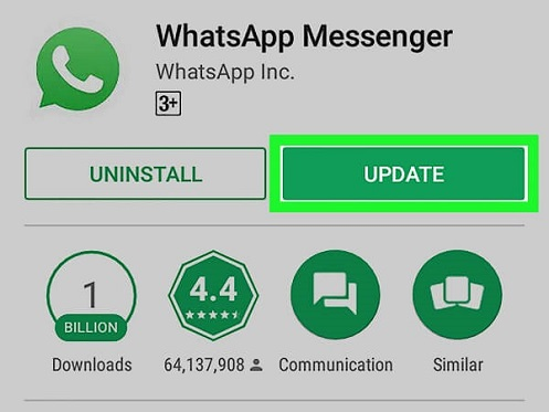 whatsapp chat backup hängen geblieben 18