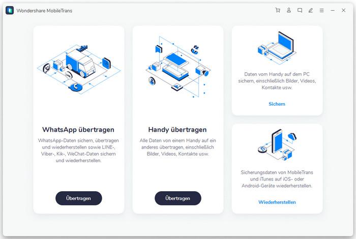 MobileTrans Homepage