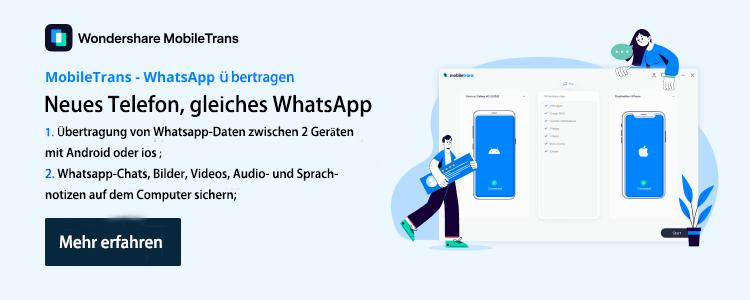 mobiletrans whatsapp übertragung