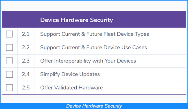 Device Hardware Security