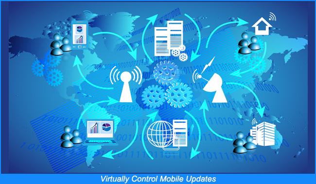 Controlar Virtualmente las Actualizaciones de los Móviles