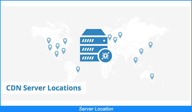 Ubicación del servidor