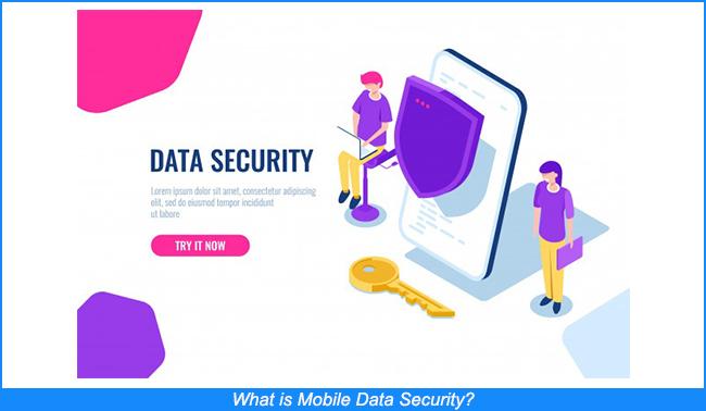 Qué es la seguridad de los datos móviles