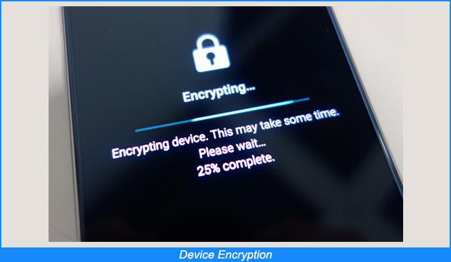 Encriptación de dispositivos