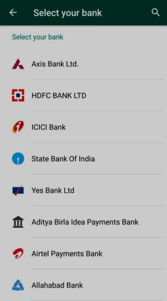 Añadir banco