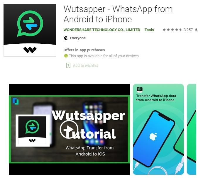 Wondershare wutsapper