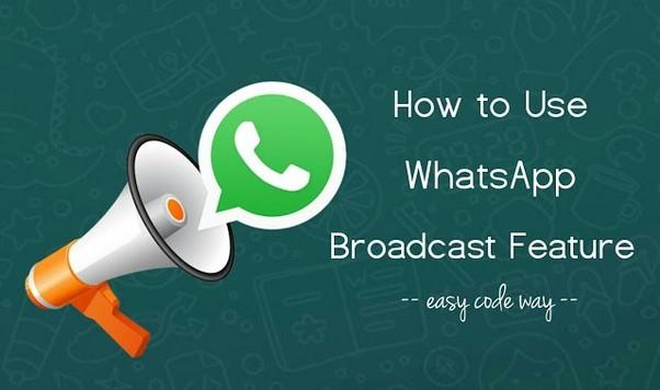 Difusión de Whatsapp