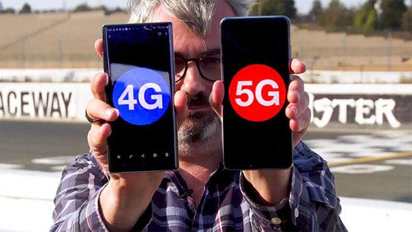 I telefoni 4G funzionano con 5g?