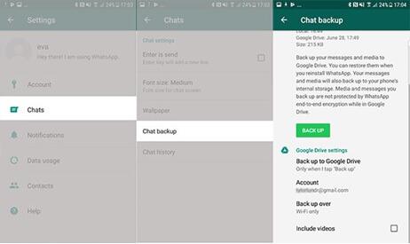 Chats-backup-WhatsApp