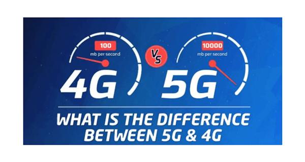 diferencia entre 4g y 5g