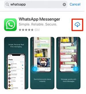 WhatsApp App store Download