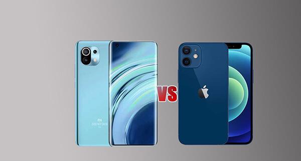 iphone 12 vs mi 11: camera