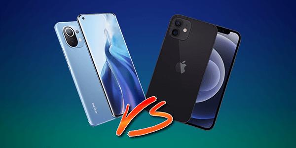iphone 12 vs mi 11