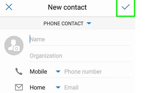 Save-contact
