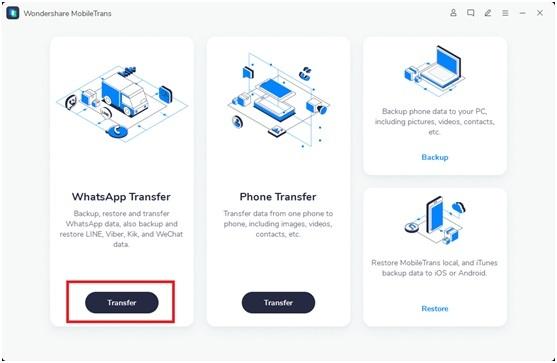 choose whatsapp transfer