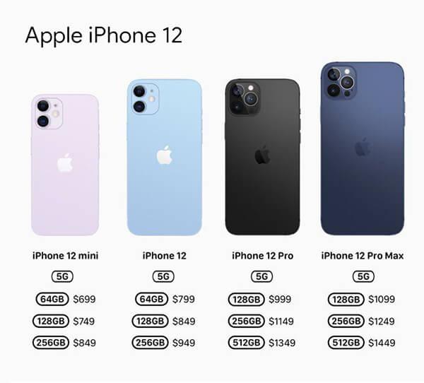 iphone 5g list