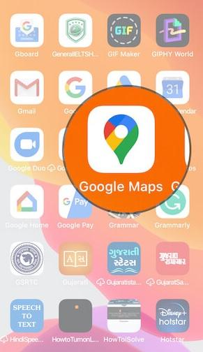 iPhone-Google-Map