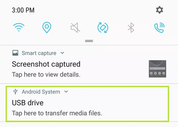 phone to pen drive via OTG