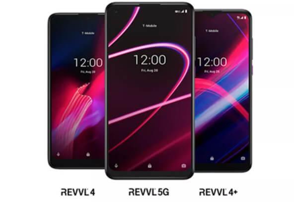 téléphones 5G de t-mobile