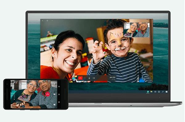 whatsapp desktop video call