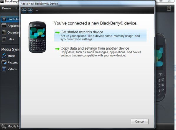 Easily Import VCF Contacts to Blackberry