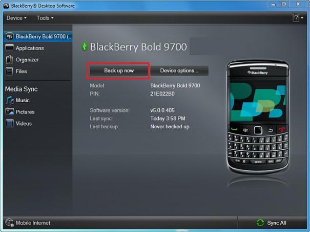 Transfer Data from BlackBerry Z10, Z30, Q10 to Samsung Galaxy S7/S8