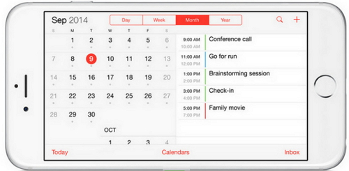 How to sync calendar from iPhone to Mac