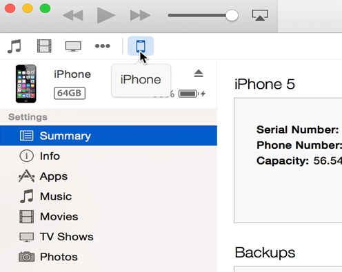 How to sync calendar from iPhone to Mac -itunes