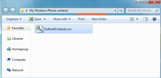 Full guide to sync Windows phone contacts