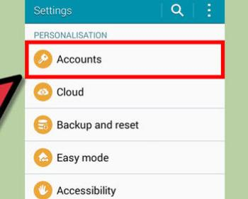 How to transfer contacts from Android to Android-account