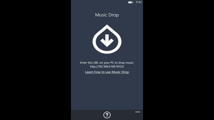 How to copy itunes music to Windows Phone-launch music drop
