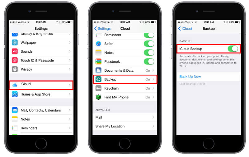 How to Transfer Files from iPhone to Mac-icloud on iphone