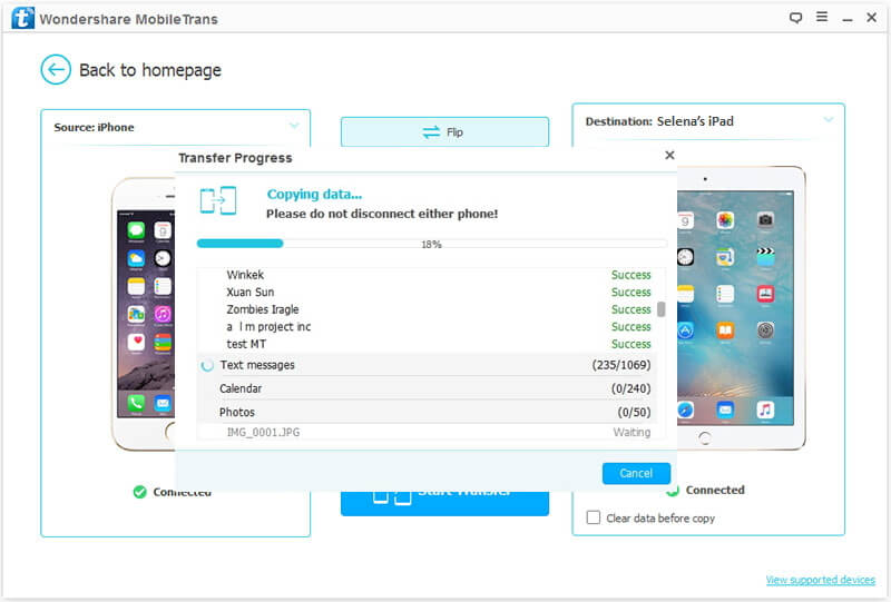 How to transfer music between iPhone and iPod-Transferring