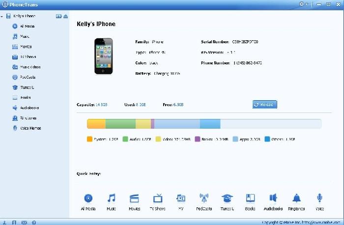 iPhone to Mac Transfer-PhoneTrans