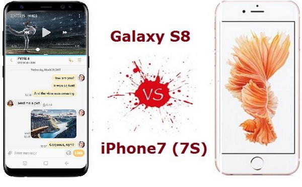 Welches ist besser, das iPhone 7 oder das Galaxy S8?