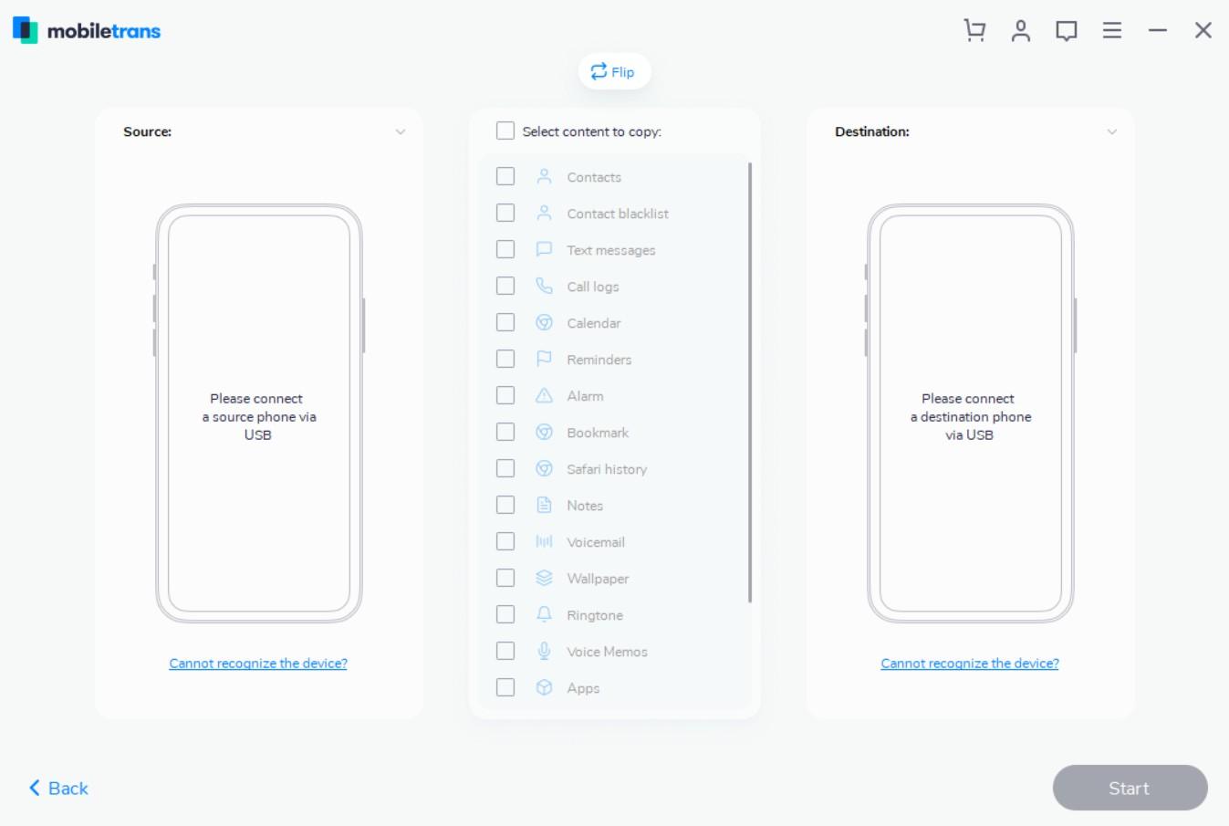 transferir contacts de Nokia a Nexus 5