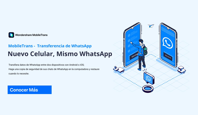 Transferencia de WhatsApp