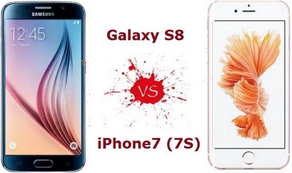 Lequel est le meilleur, l'iPhone 7 ou le Galaxy S8