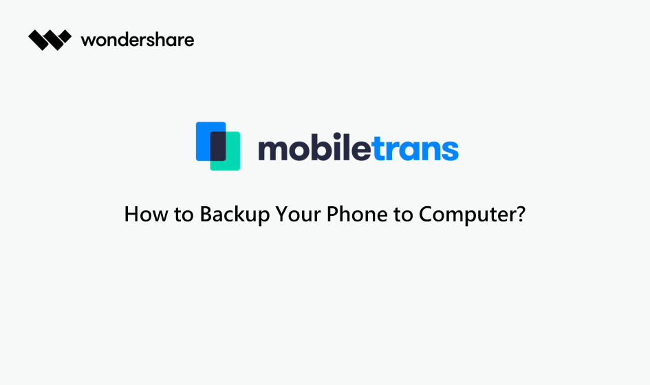 backup phone to pc