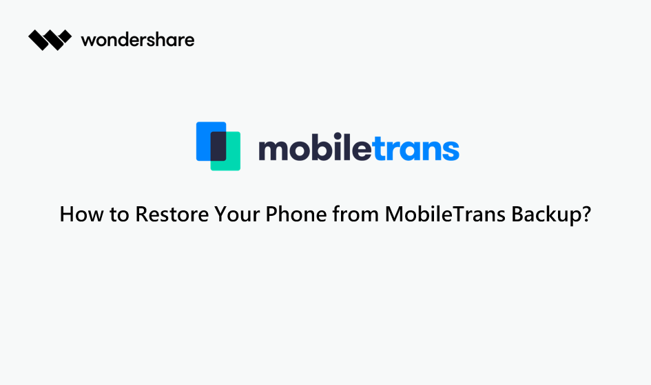 restore phone from backup