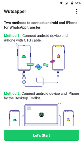 zwei telefone verbinden