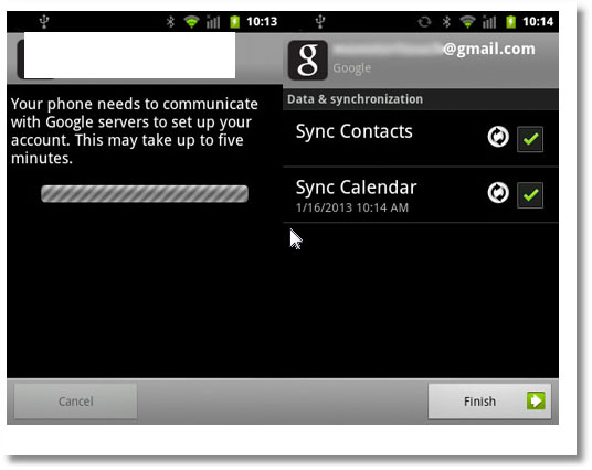 How to transfer contacts from phone to phone-sync contact