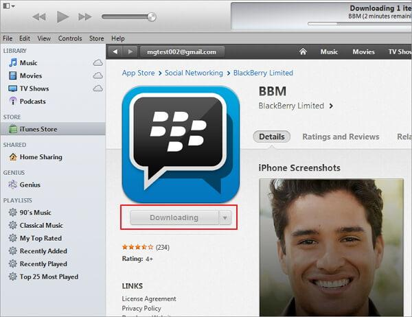 BlackBerry to iPhone-messenger apps for blackberry and iphone