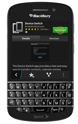 transfer data from Android to BlackBerry-03