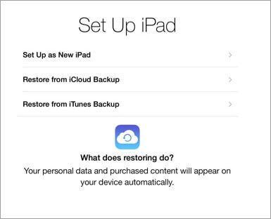 Transfer from old iPad to new iPad-transfer old iPad data to ipad air