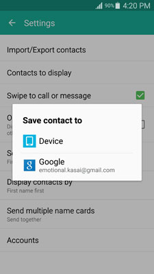 Transfer contacts from Samsung to Samsung-image for step 13